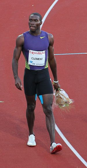Kerron Clement - Clement at the 2010 Bislett Games