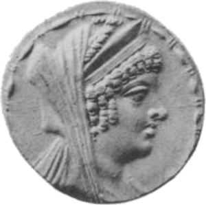 Cleopatra Thea - Image: Cleopatra Thea face