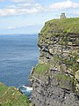 Cliffs of Moher, O'Brien's Tower - geograph.org.uk - 68953.jpg