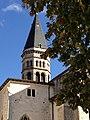 Clocher de l'église Abbatiale Saint-Michel de Nantua.jpg