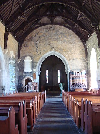 Clonfert Cathedral - Nave