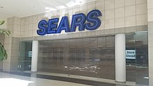 d7744d1b09e A Sears store located at Hanes Mall in Winston-Salem