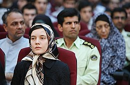 Clotilde Reiss, 2009 Iran poll protests trial 14.jpg