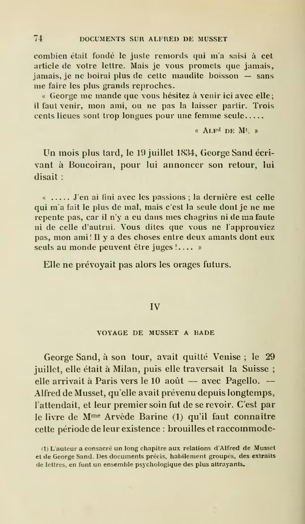 0001f67ee45 Page Clouard - Documents inédits sur Alfred de Musset