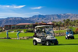 Golf equipment - Golf cart
