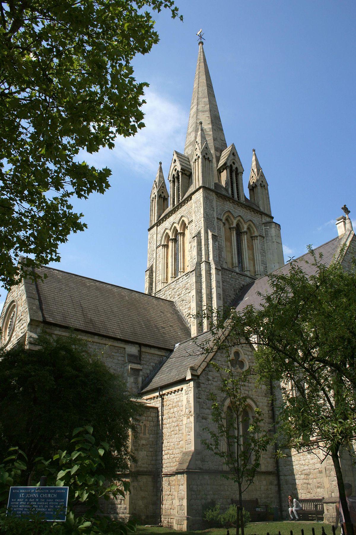 Notting Hill London: St John's, Notting Hill
