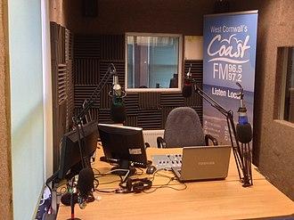 Coast FM (West Cornwall) - Studio A, Coast FM.