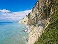 Coastal sandstone cliffs at Sidari on Corfu island in Greece (46954450265).jpg