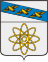 Coat of Arms of Kurchatov (Kursk oblast).png