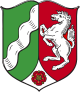 Coat of arms of North Rhine-Westphalia
