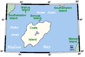 Coats Island - Coats Island, Nunavut