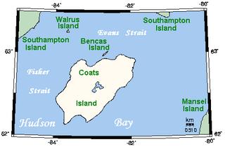 Coats Island island