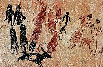 Catalonia - The Roca dels Moros contain paintings protected as part of the Rock art of the Iberian Mediterranean Basin, a World Heritage Site