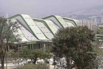 Medellín Sports Coliseum - Exterior view