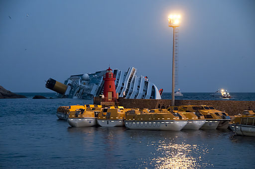 Collision of Costa Concordia 3