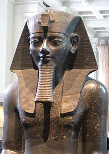 Colossal statue of Amenhotep III