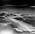 Columbia Glacier, Calving Terminus with Oblique View of Valley Glacier, August 22, 1979 (GLACIERS 1141).jpg