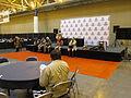 ComicConWizardWorld 2014 Hall Waiting Browncoats.JPG