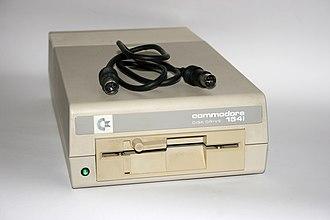 Commodore 64 peripherals - Commodore 1541C Floppy Drive, 2nd model