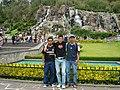 Con Daniel y Angel en los jardines del Tepeyac - panoramio.jpg