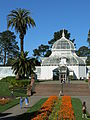 Conservatory of Flowers in San Francisco.JPG