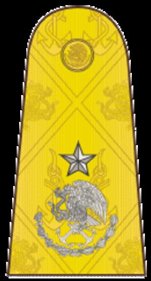 Naval ranks and insignia of Mexico - Image: Contralmirante Mexico