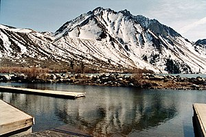 Convict Lake mit Mount Morrison