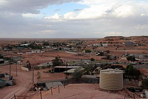 English: Coober Pedy, South Australia - town