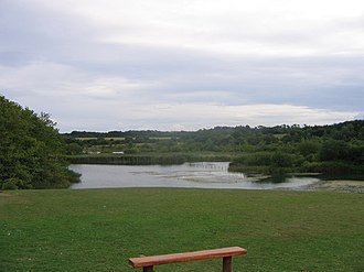 Cosmeston Lakes Country Park - from the East