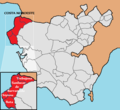Costa Noroeste de Cadiz Map.png