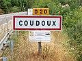 Coudoux-FR-13-panneau d'agglomération-01.jpg