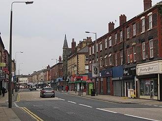 Walton, Liverpool - Image: County Road, Walton, Liverpool (1)