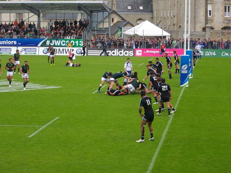 File coupe du monde junior de rugby xv 2013 3e place 8 jpg wikimedia commons - Place de rugby coupe du monde ...