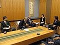 Courtesy Call on Prime Minister Shinzo Abe (34986367526).jpg