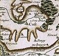 Coust sur la carte de Cassini vers 1780.jpg