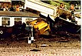 Crash test of nuclear waste flask Old Dalby 17 July 1984 (8) - geograph.org.uk - 543086.jpg