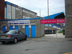 Barrow Raiders - Craven Park, the current home of Barrow Raiders
