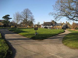 Creaton village in United Kingdom