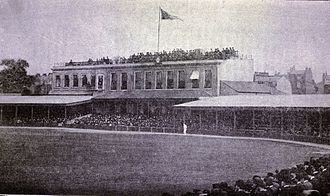 Wanderers F.C. - Wanderers played 151 games at the Kennington Oval (1891 image)