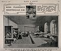 Crimean War; Florence Nightingale at Scutari Hospital, 1856, Wellcome V0015400.jpg