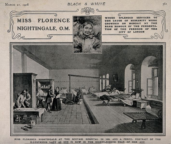 a summary of the life and works of florence nightingale Florence nightingale  1837 was a critical turning point in young florence's life she believed  florence was able to train for her work in nursing with a three.