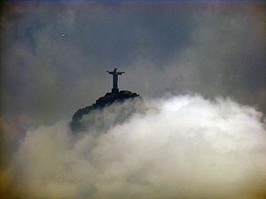 Cristo Redentor on Corcovado, Rio de Janeiro, ...