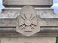 Croix Guerre Monument morts St Cyr Menthon 1.jpg