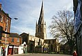 Crooked spire of Chesterfield Parish Church - geograph.org.uk - 341995.jpg