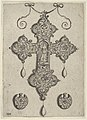 Cross-Shaped Pendant Design with Hope Standing in a Circular Temple MET DP837437.jpg