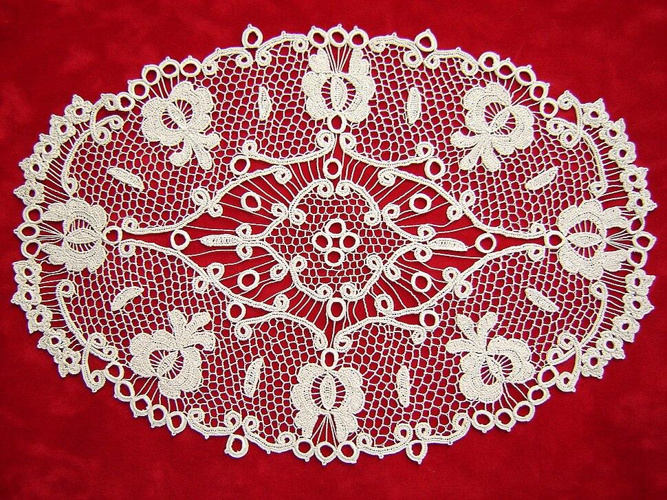 Csetneki Crochet Lace from Slovakia