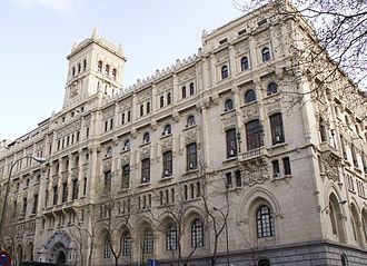 Ministry of the Navy (Spain) - General Headquarters of the Navy, formerly the site of the naval ministry