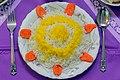 Cuisine of Iran آشپزی ایرانی 26برنج تزئین شده.jpg