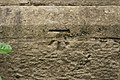 Cut Bench Mark (close-up), Beckwithshaw, North Yorkshire.jpg