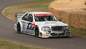 Class 1 Touring Cars - Image: D2 Mannesmann DTM Mercedes W202 Goodwood 2010